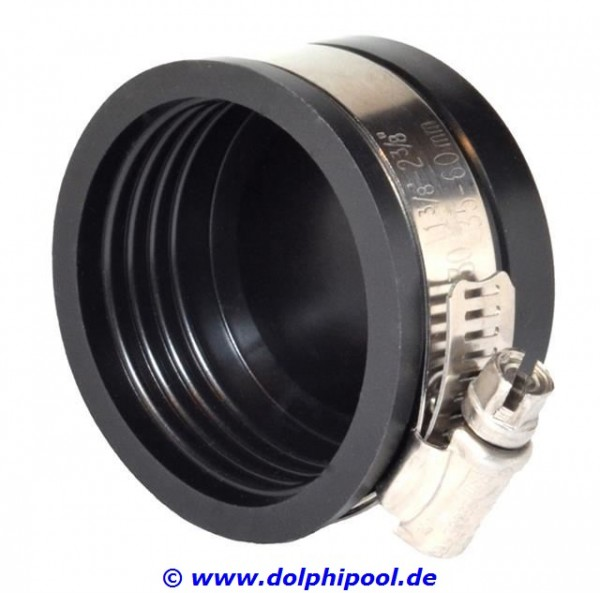 "Flexible Endkappe 1 1/2"" / 50mm, Klemmbereich 50-44 mm"
