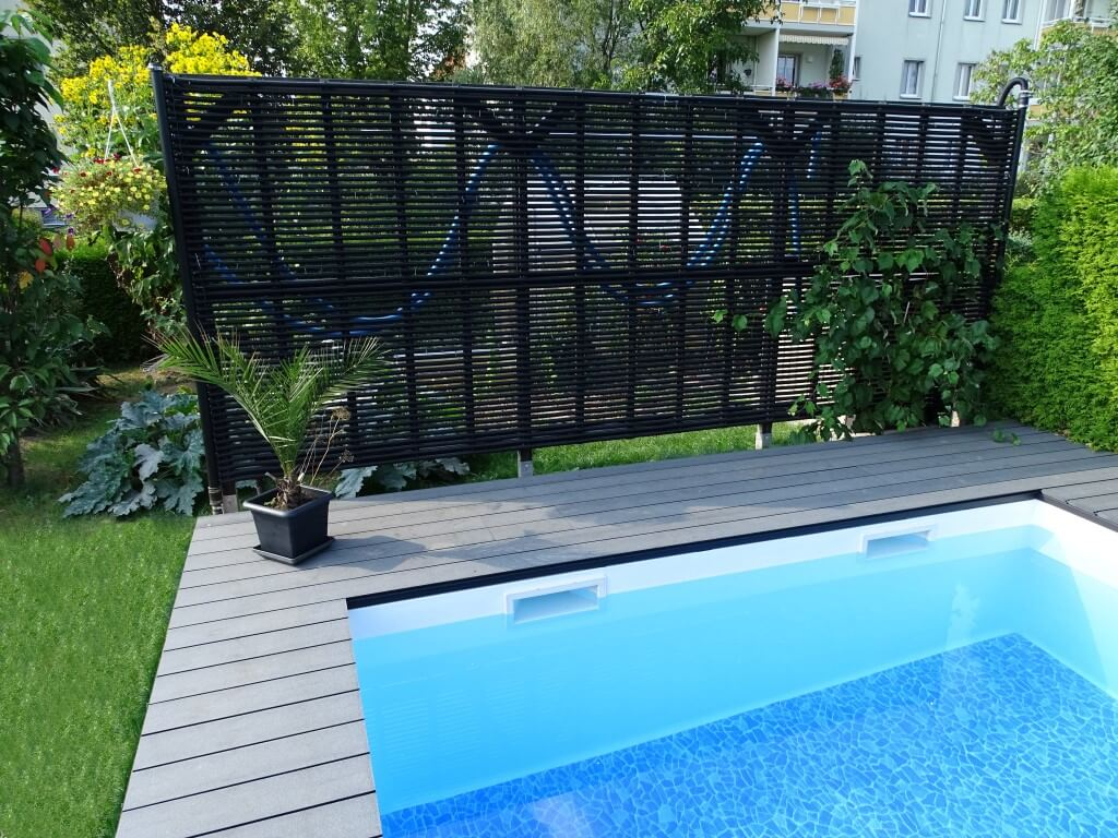 dolphi ripp solar poolheizung 1m x 10m 51 99 m solarheizung solarmatte. Black Bedroom Furniture Sets. Home Design Ideas