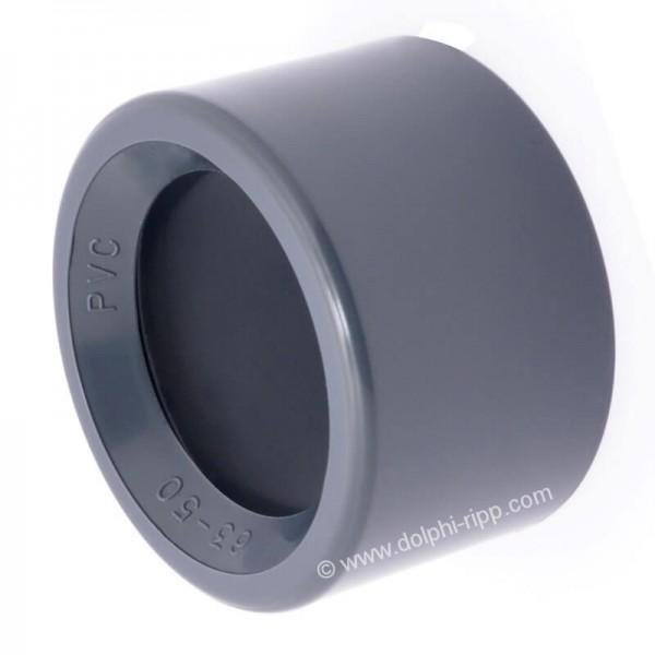 PVC Reduktion kurz 63 X 50 mm